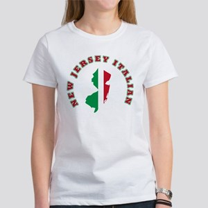 New Jersey Italian Women's Dark T-Shirt