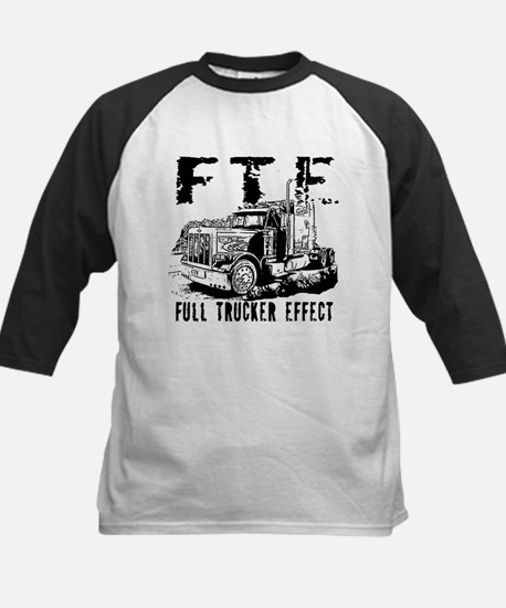 FTE - Black Kids Baseball Jersey