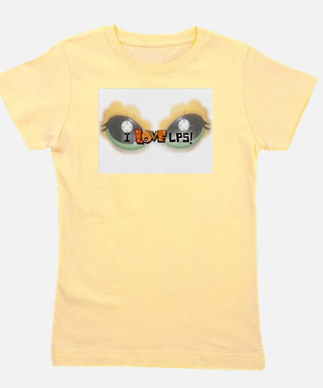 I LOVE LPS! Orange T-Shirt