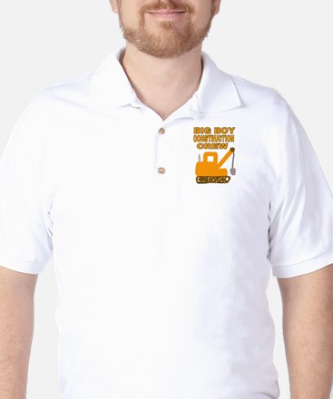 BIG BOY CONSTRUCTION CREW Golf Shirt
