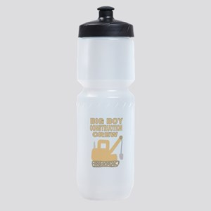 BIG BOY CONSTRUCTION CREW Sports Bottle
