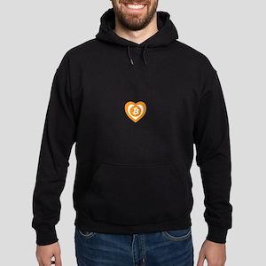 Bitcoin Heart Logo Symbol Sweatshirt
