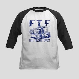 FTE - Blue Kids Baseball Jersey