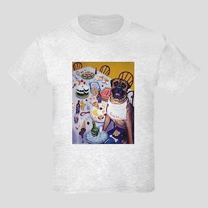 Bullmastiff Party Kids Light T-Shirt