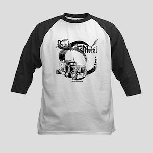 PTTM-Trucker Blk Kids Baseball Jersey