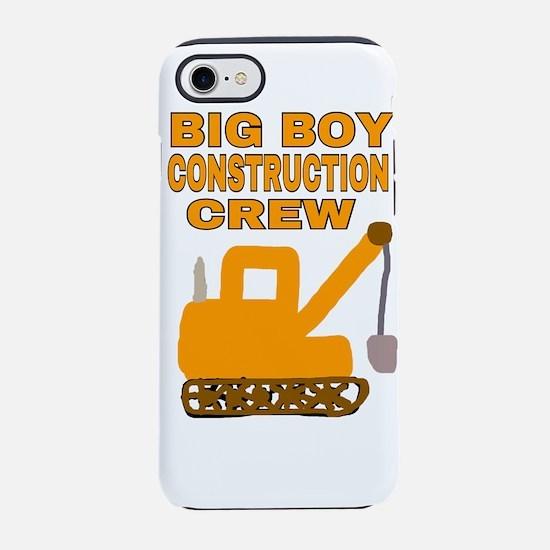 BIG BOY CONSTRUCTION CREW iPhone 8/7 Tough Case