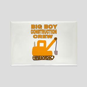 BIG BOY CONSTRUCTION CREW Magnets