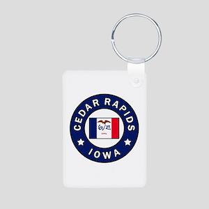 Cedar Rapids Iowa Keychains