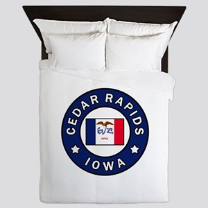 Cedar Rapids Iowa Queen Duvet