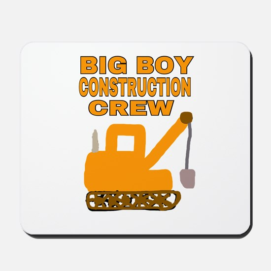 BIG BOY CONSTRUCTION CREW Mousepad