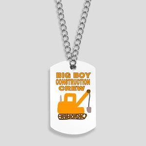 BIG BOY CONSTRUCTION CREW Dog Tags