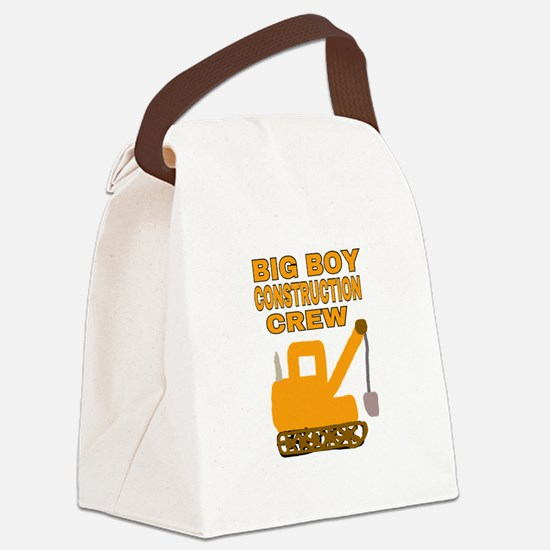 BIG BOY CONSTRUCTION CREW Canvas Lunch Bag