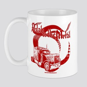 PTTM-Trucker-Red Mug