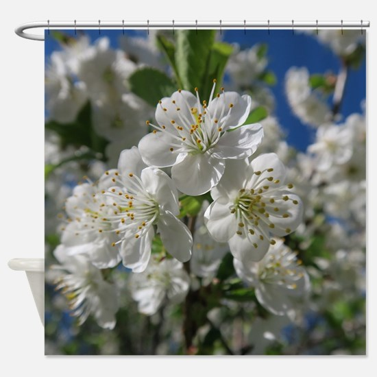 Funny Blooming Shower Curtain
