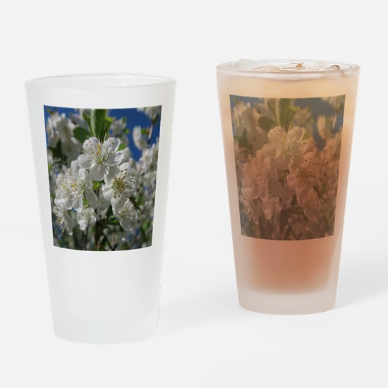 Cool Blossom Drinking Glass