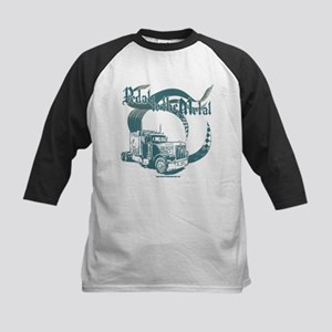 PTTM-Trucker-Blue Kids Baseball Jersey