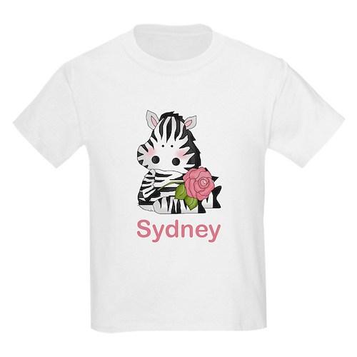 Sydney's Zebra Rose T-Shirt