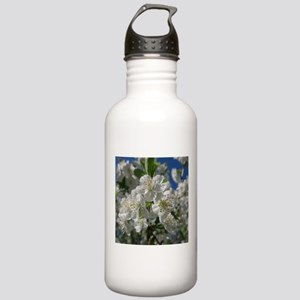 white cherry blossom i Stainless Water Bottle 1.0L