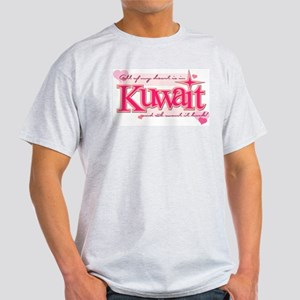 ALL MY ♥ IS IN KUWAIT Light T-Shirt