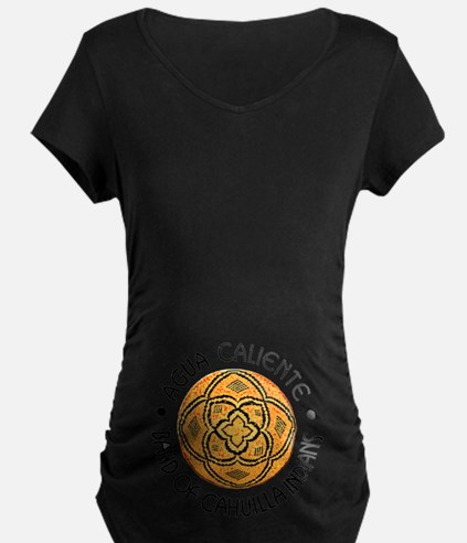 Agua Caliente Band Of Cahui Dark Maternity T-Shirt