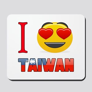 I love Taiwan Mousepad