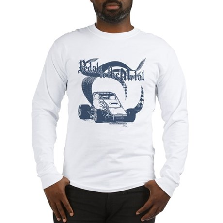 PTTM-Non-Wing Blue Long Sleeve T-Shirt