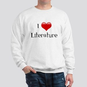 I Love Literature Sweatshirt