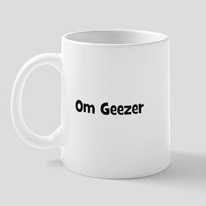Om Geezer Mug