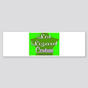 Lot Lizard Couture Bumper Sticker