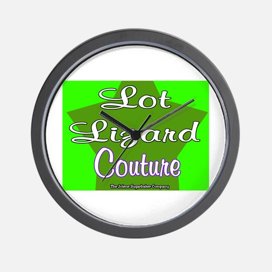Lot Lizard Couture Wall Clock