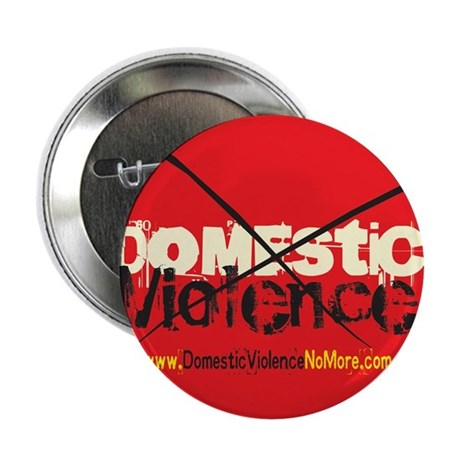 """Domestic Violence w/Yellow UR 2.25"""" Button (10 pac"""