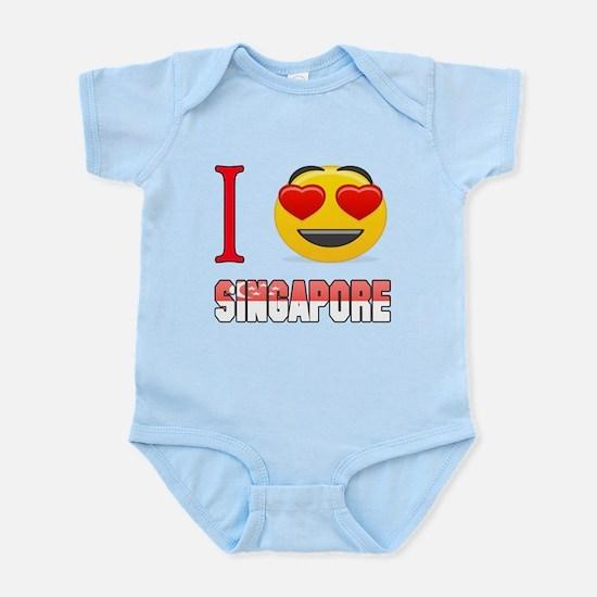 I love Singapore Infant Bodysuit
