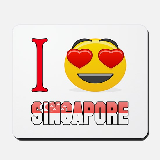 I love Singapore Mousepad