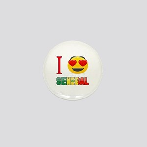 I love Senegal Mini Button
