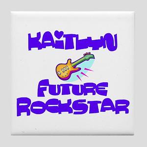 Kaitlyn - Future Rock Star Tile Coaster