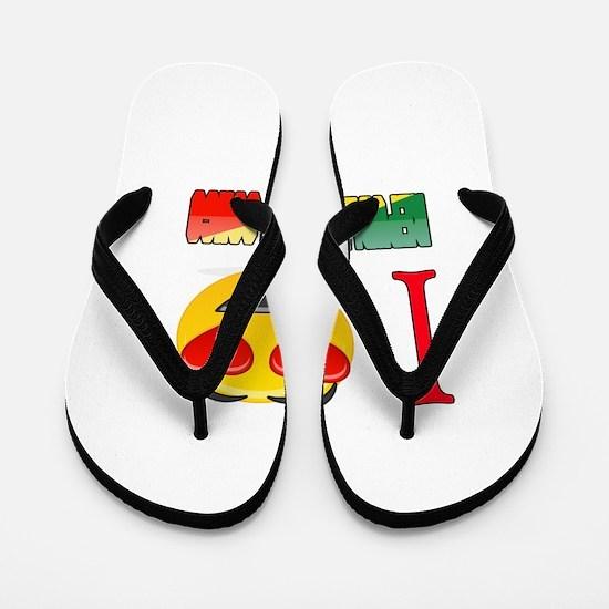 I love Republic Of The Congo Flip Flops