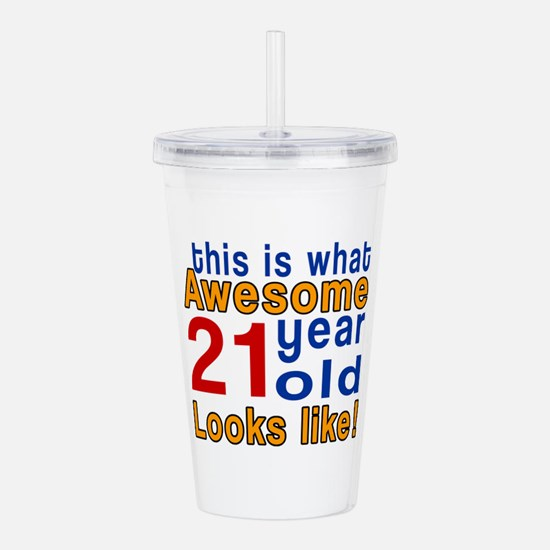 This Is What Awesome 2 Acrylic Double-wall Tumbler