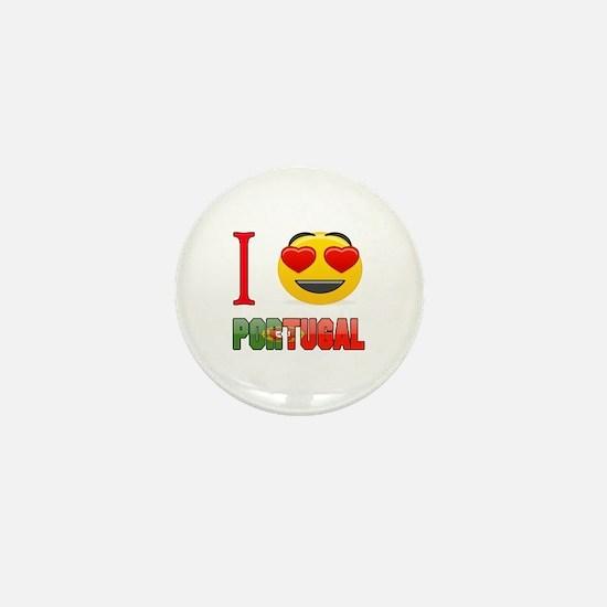 I love Portugal Mini Button