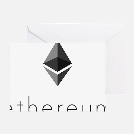 Cool Bitcoin logo Greeting Card