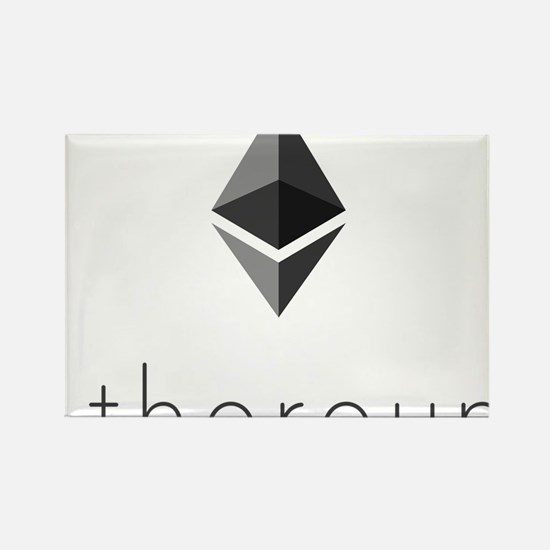 Cute Crypto Rectangle Magnet