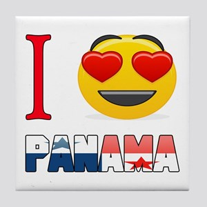 I love Panama Tile Coaster