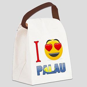 I love Palau Canvas Lunch Bag