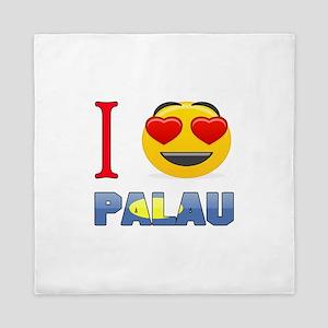 I love Palau Queen Duvet