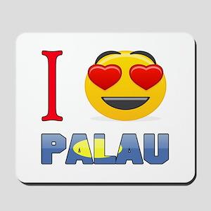 I love Palau Mousepad