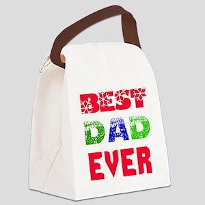Best Dad Ever Designs Canvas Lunch Bag