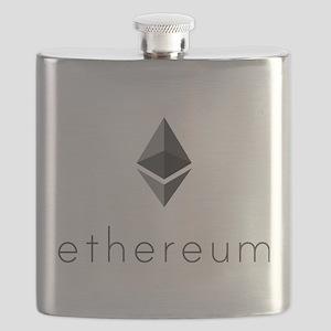 Ethereum Logo Symbol Design Icon Flask