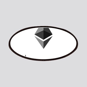 Ethereum Logo Symbol Design Icon Patch
