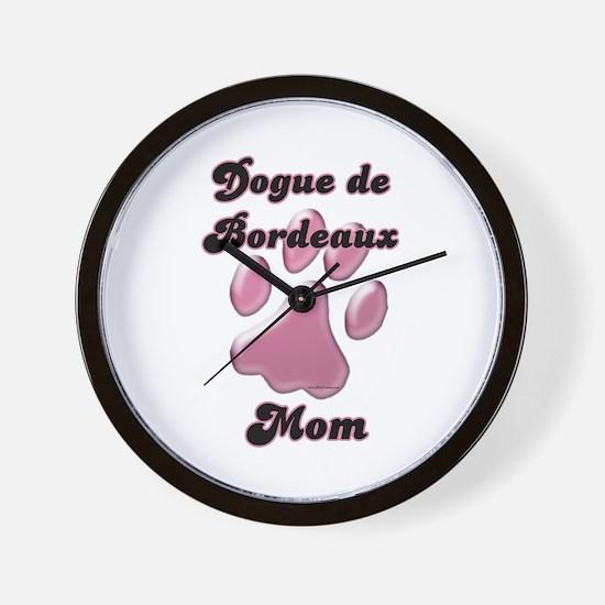 Dogue Mom3 Wall Clock