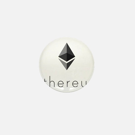 Ethereum Logo Symbol Design Icon Mini Button