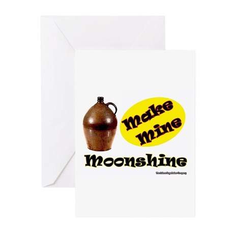 Make Mine Moonshine Greeting Cards (Pk of 10)